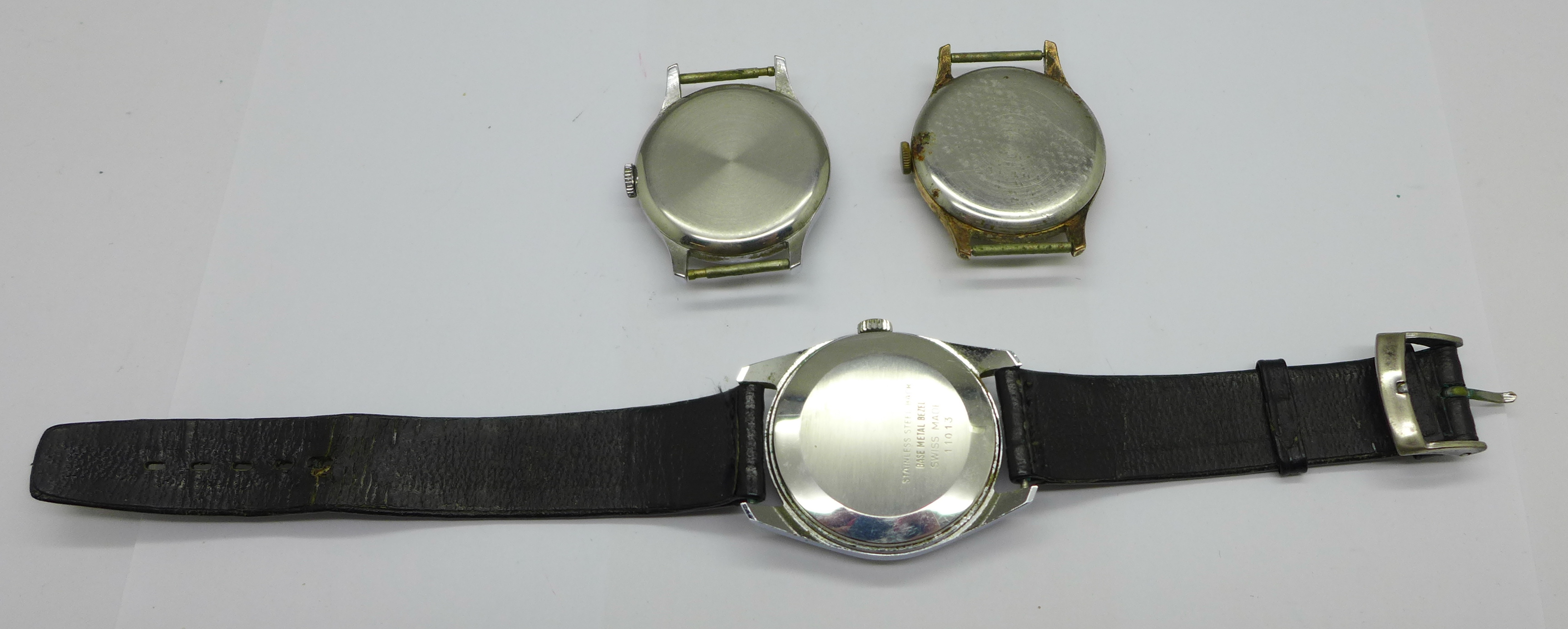 A Smiths Astral, Smiths Astrolon and one other Smiths wristwatch with De Luxe movement - Image 4 of 5