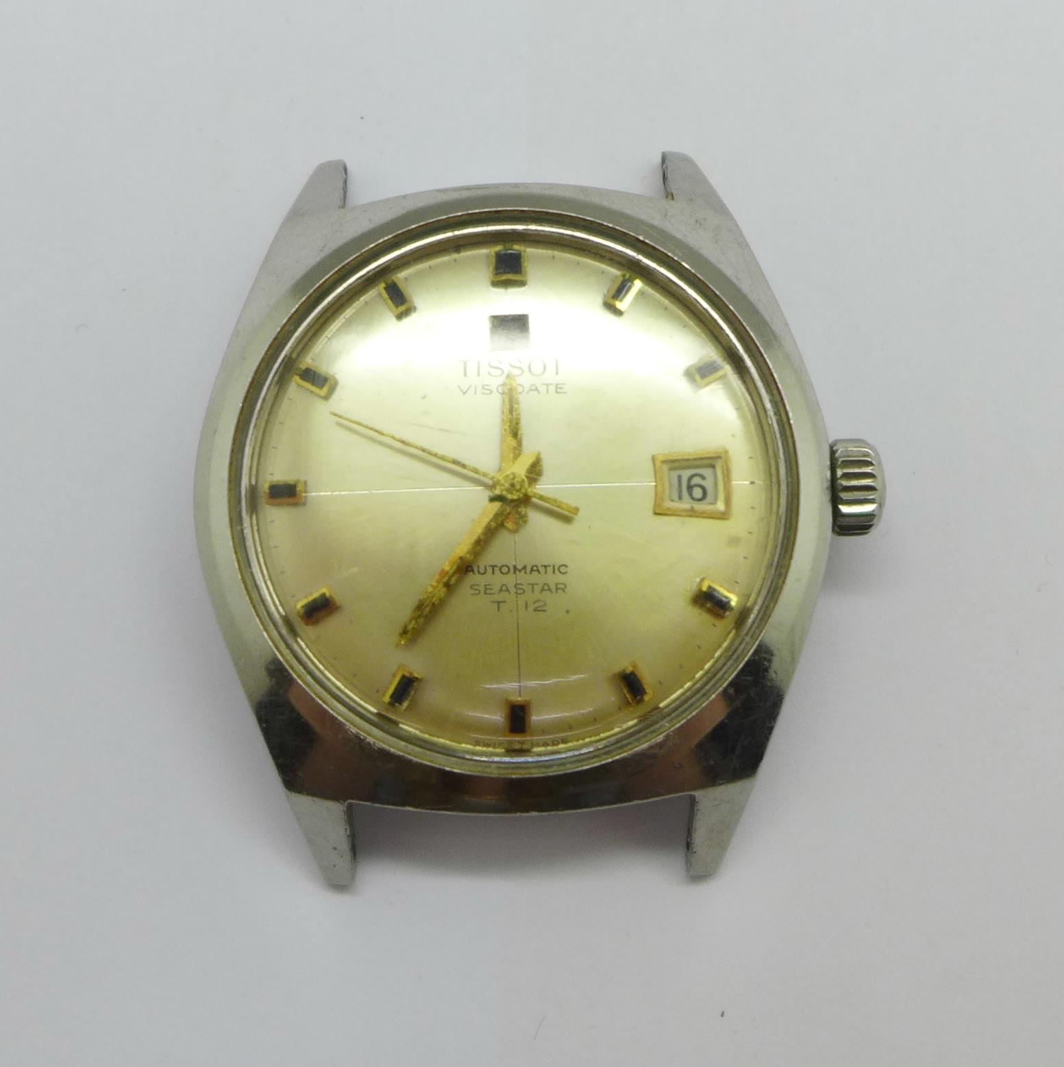 A Tissot Visodate Seastear T12 automatic wristwatch - Image 6 of 6