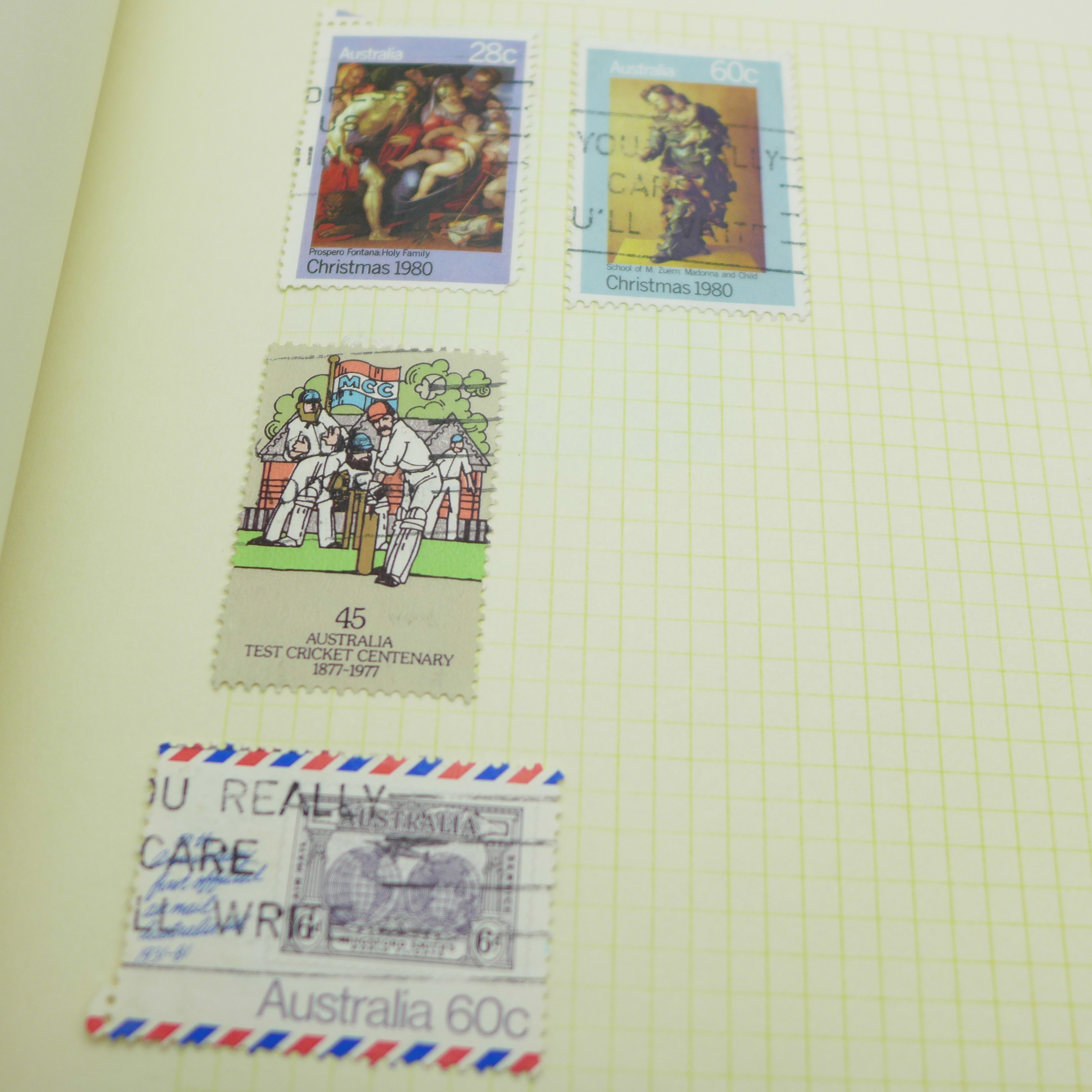 A collection of postcards and a stamp album - Image 9 of 9
