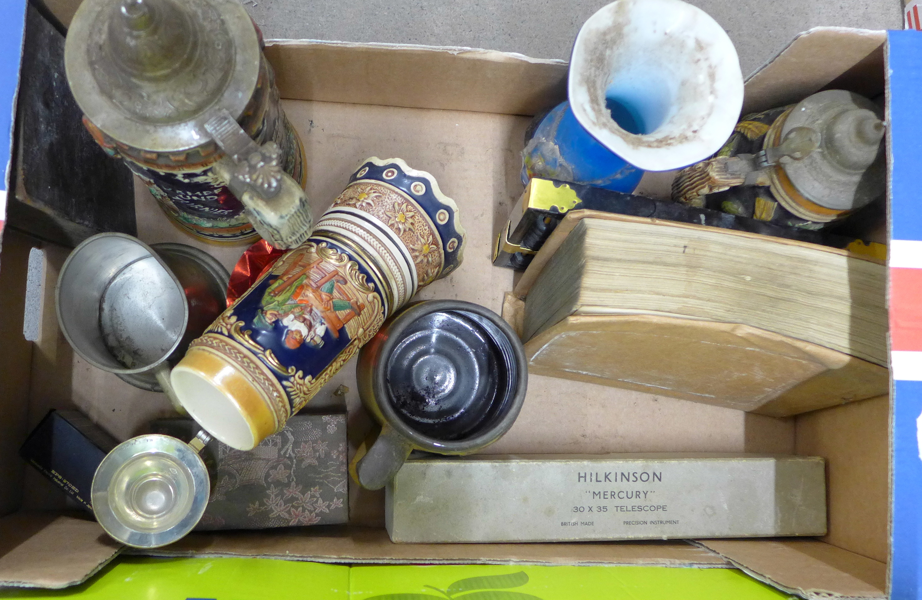 Four boxes of assorted items **PLEASE NOTE THIS LOT IS NOT ELIGIBLE FOR POSTING AND PACKING** - Image 2 of 5