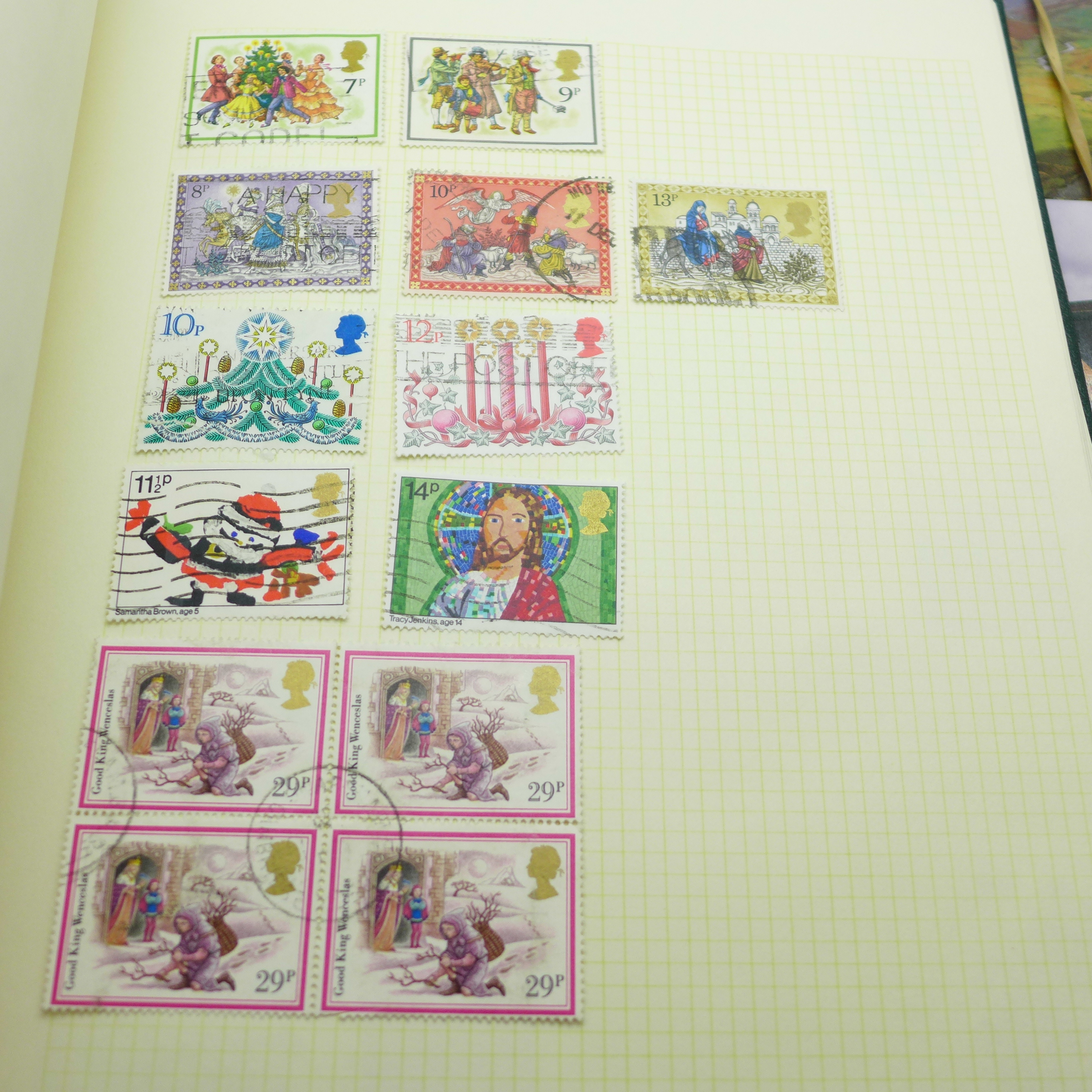 A collection of postcards and a stamp album - Image 6 of 9