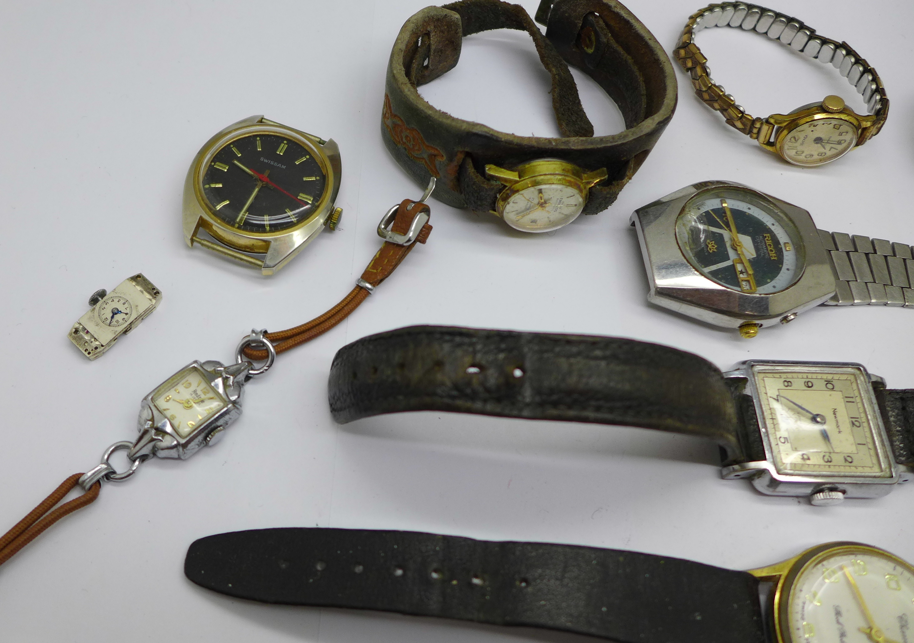 Mechanical wristwatches, a/f - Image 6 of 6