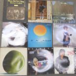 Thirteen LP records