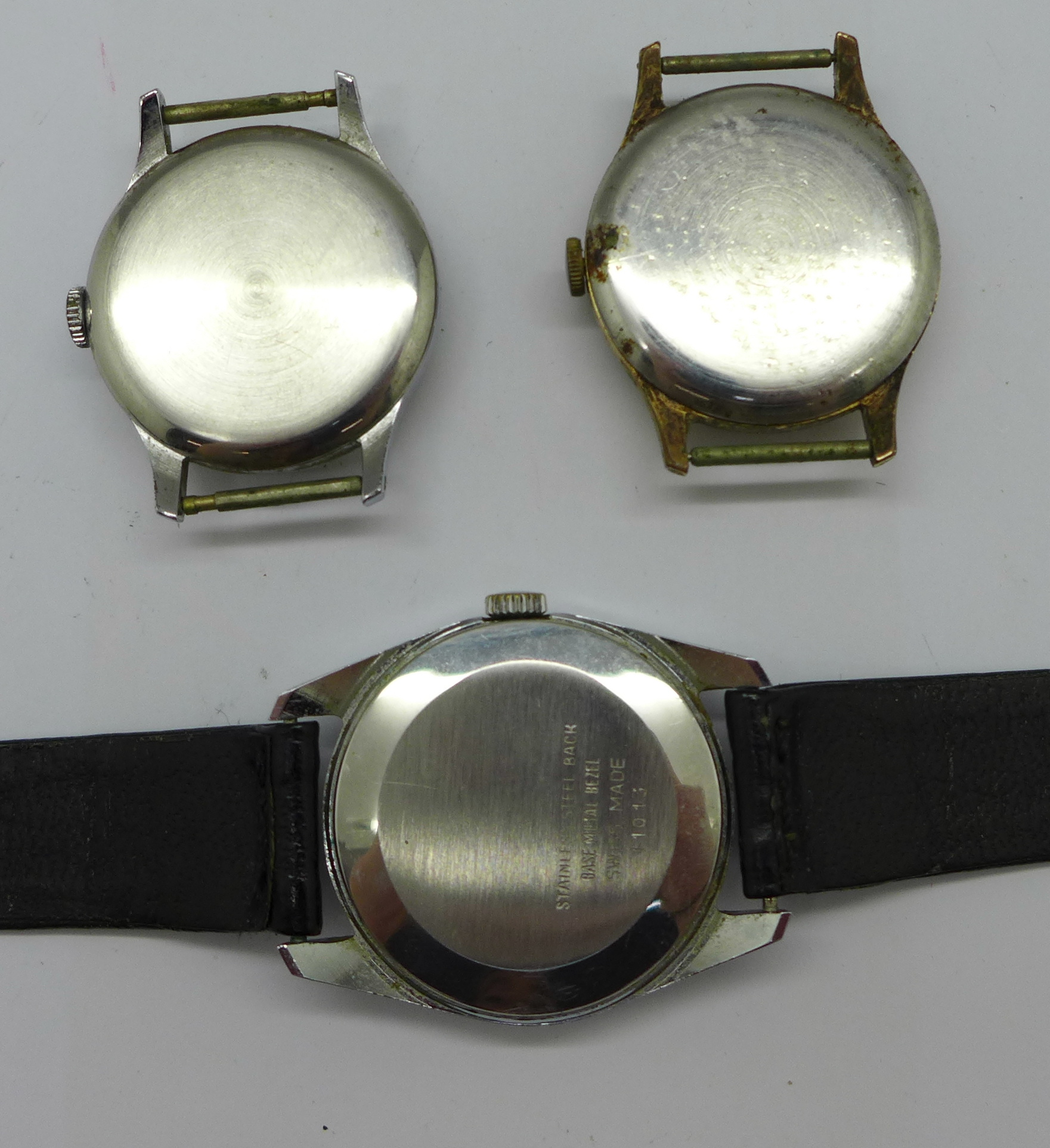 A Smiths Astral, Smiths Astrolon and one other Smiths wristwatch with De Luxe movement - Image 5 of 5