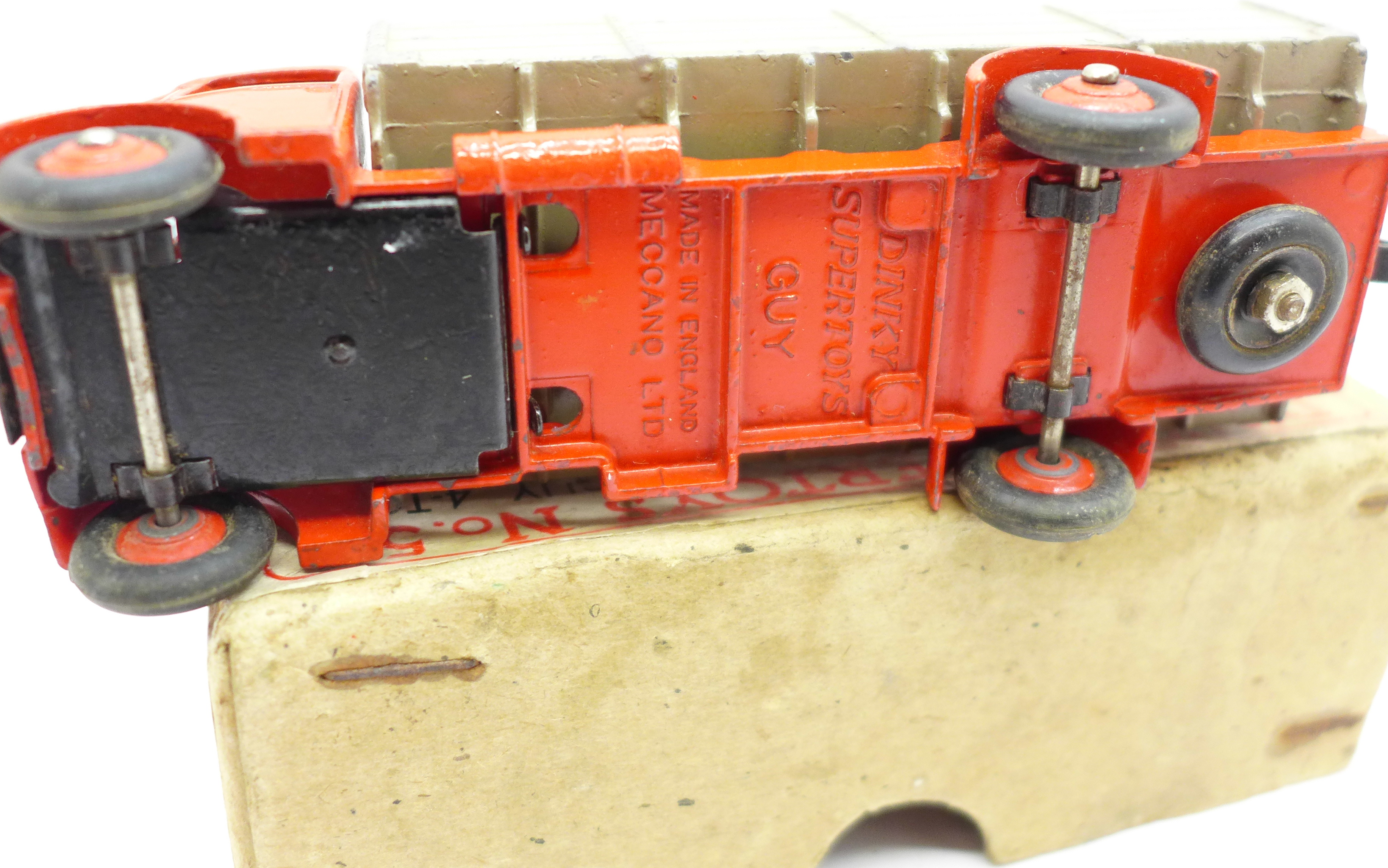 A Dinky Supertoys No. 511 Guy 4-Ton Lorry, boxed - Image 3 of 4