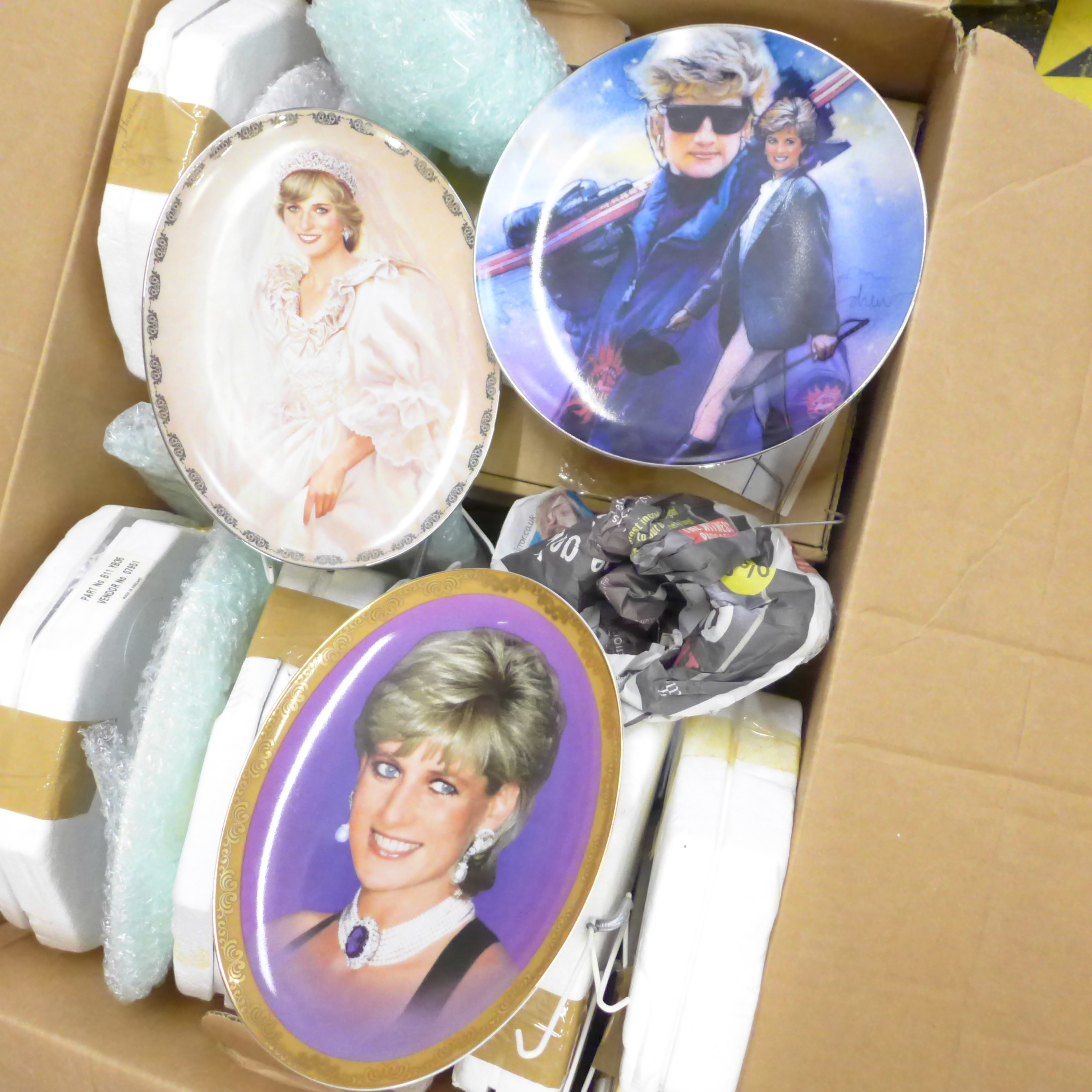 A collection of commemorative china mainly Royal Family, Princess Diana and four Waltzing Matilda - Image 3 of 3