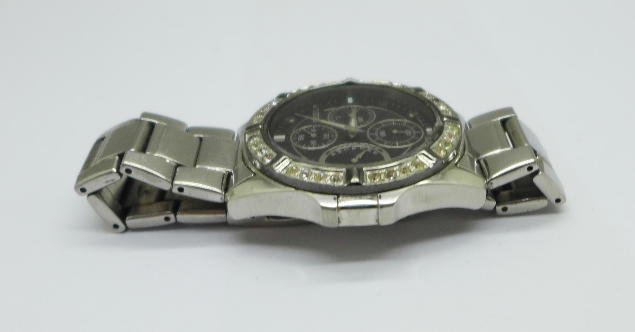 A Seiko multi dial wristwatch - Image 3 of 6