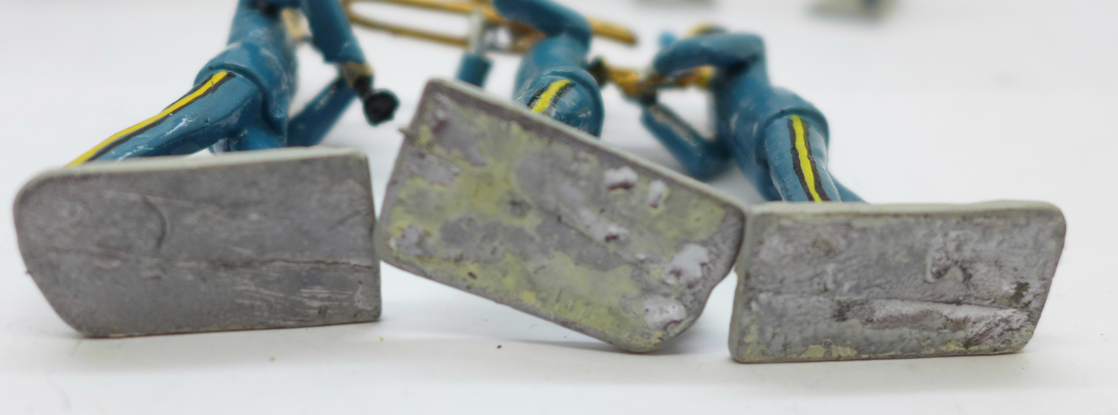 Fifteen metal marching band figures - Image 5 of 5