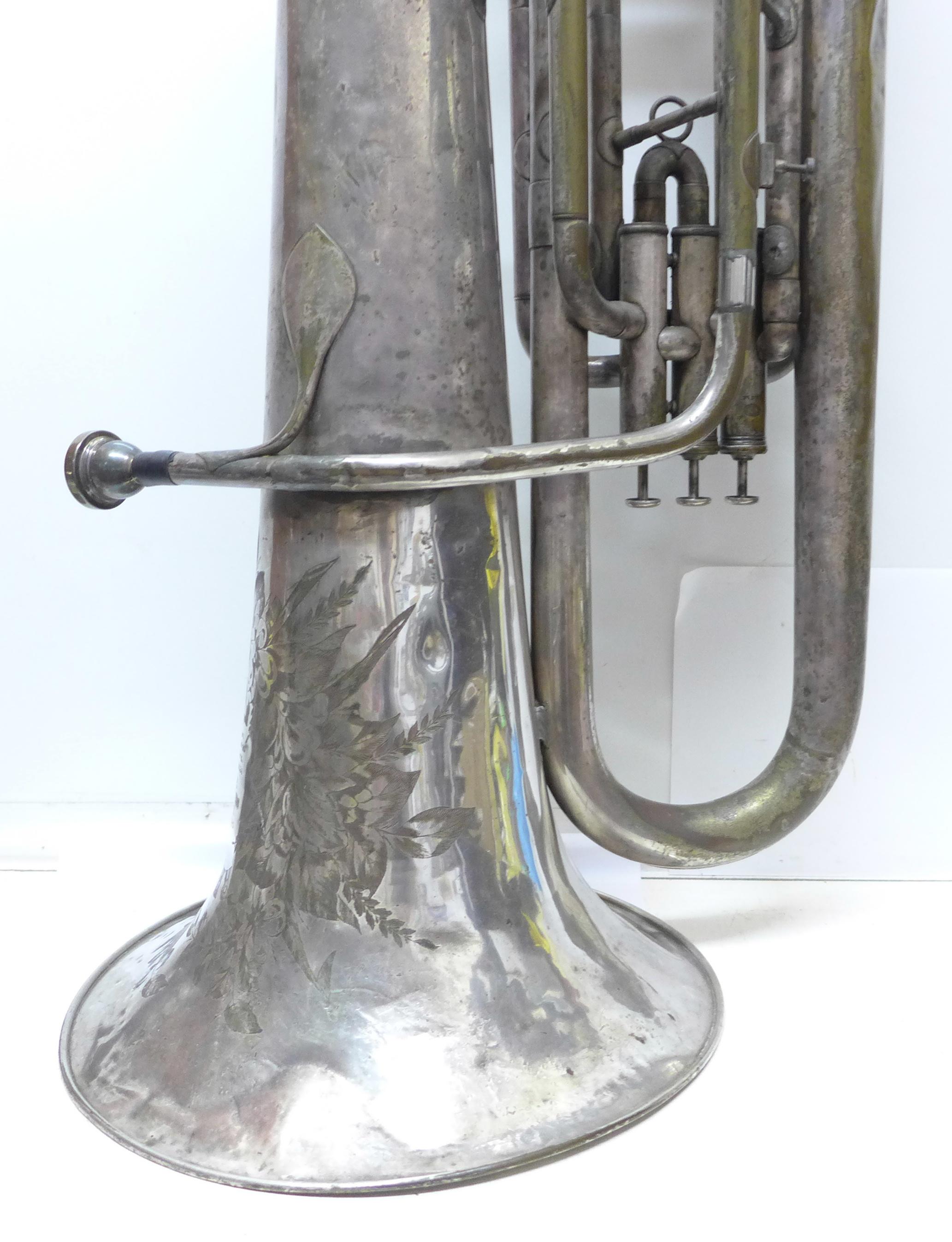 A Besson b-flat tuba - Image 3 of 7