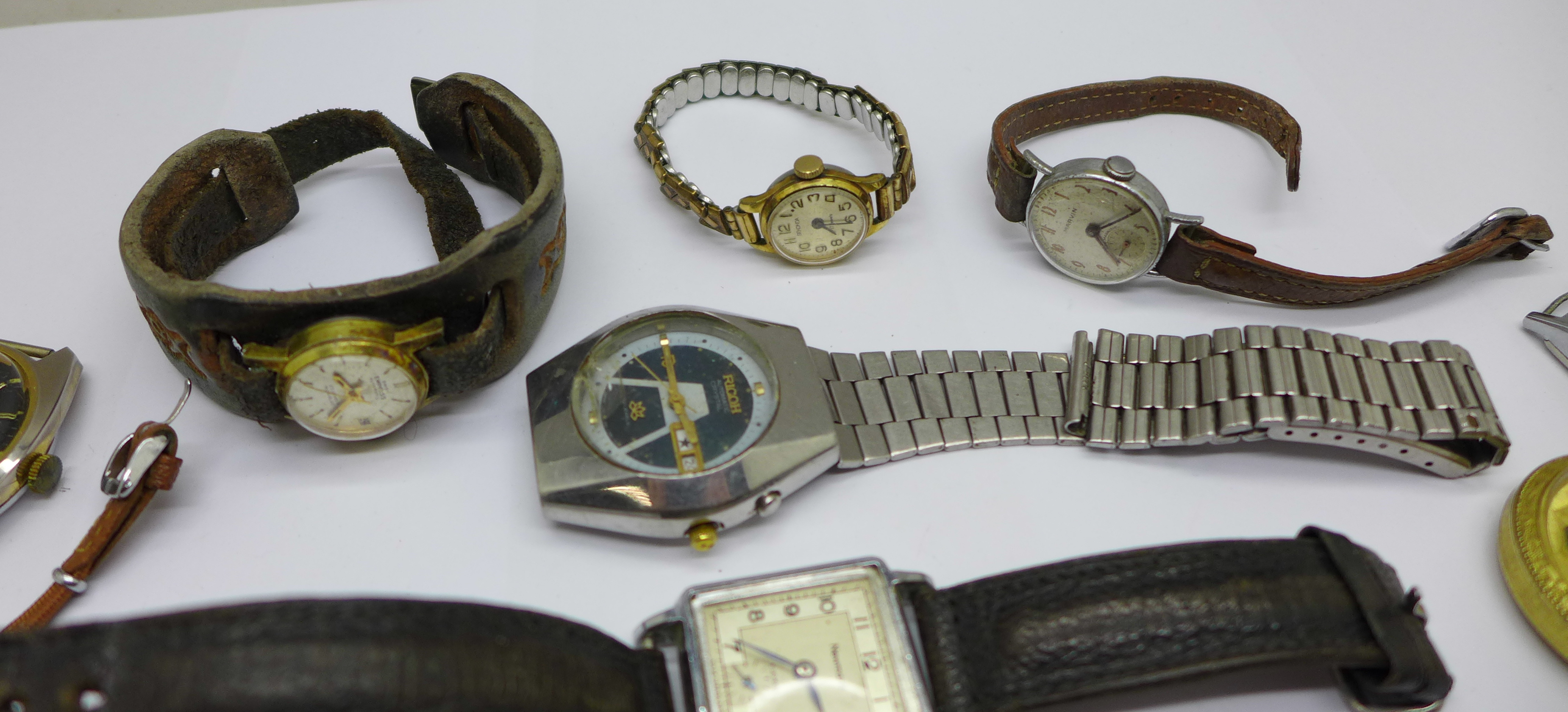 Mechanical wristwatches, a/f - Image 5 of 6