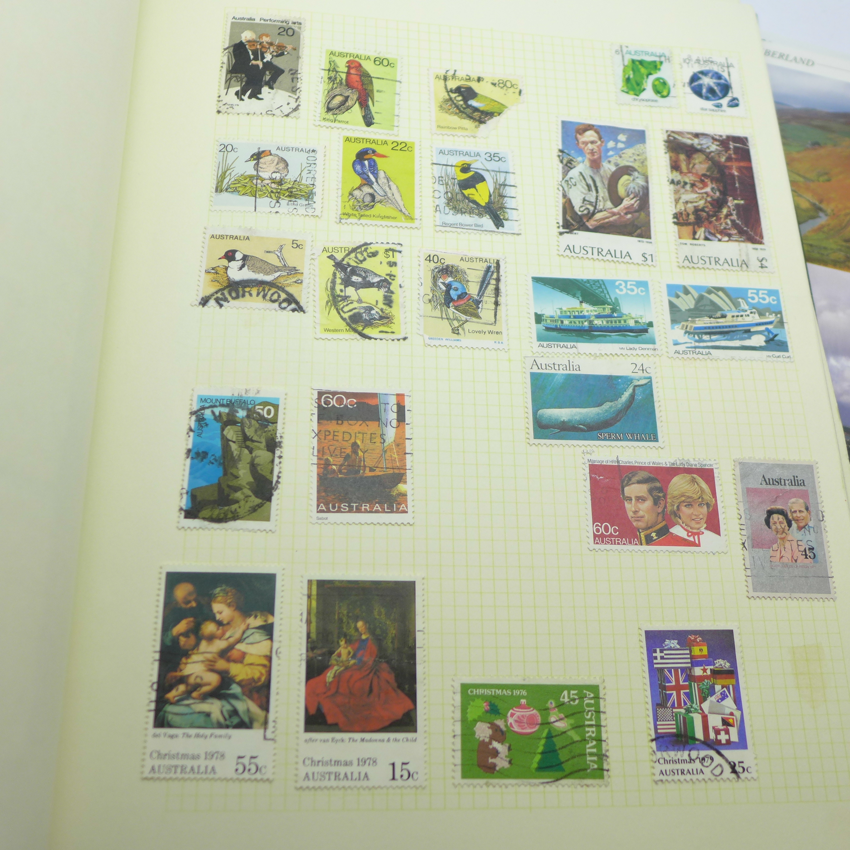 A collection of postcards and a stamp album - Image 2 of 9