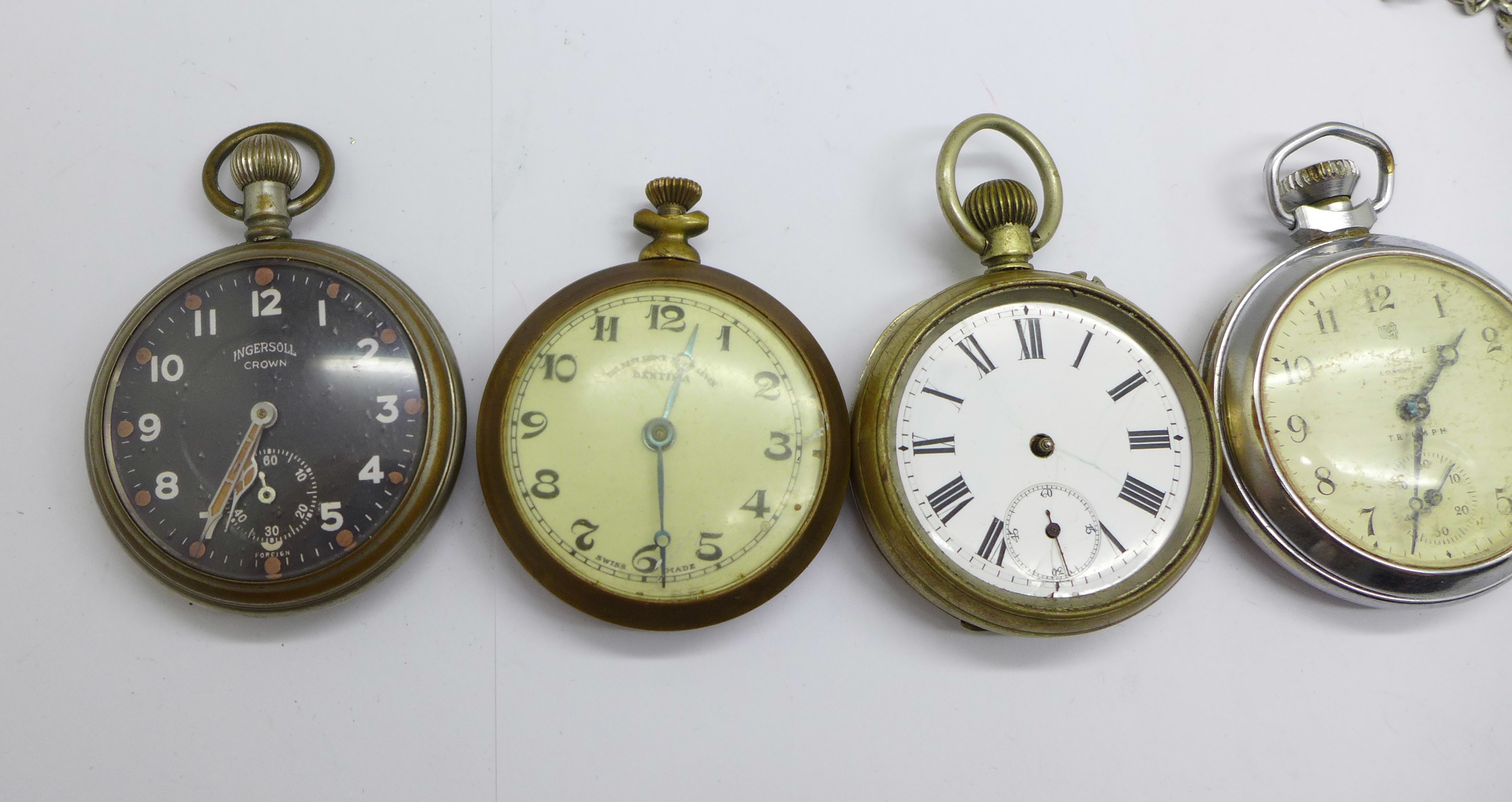 Five pocket watches - Image 2 of 4