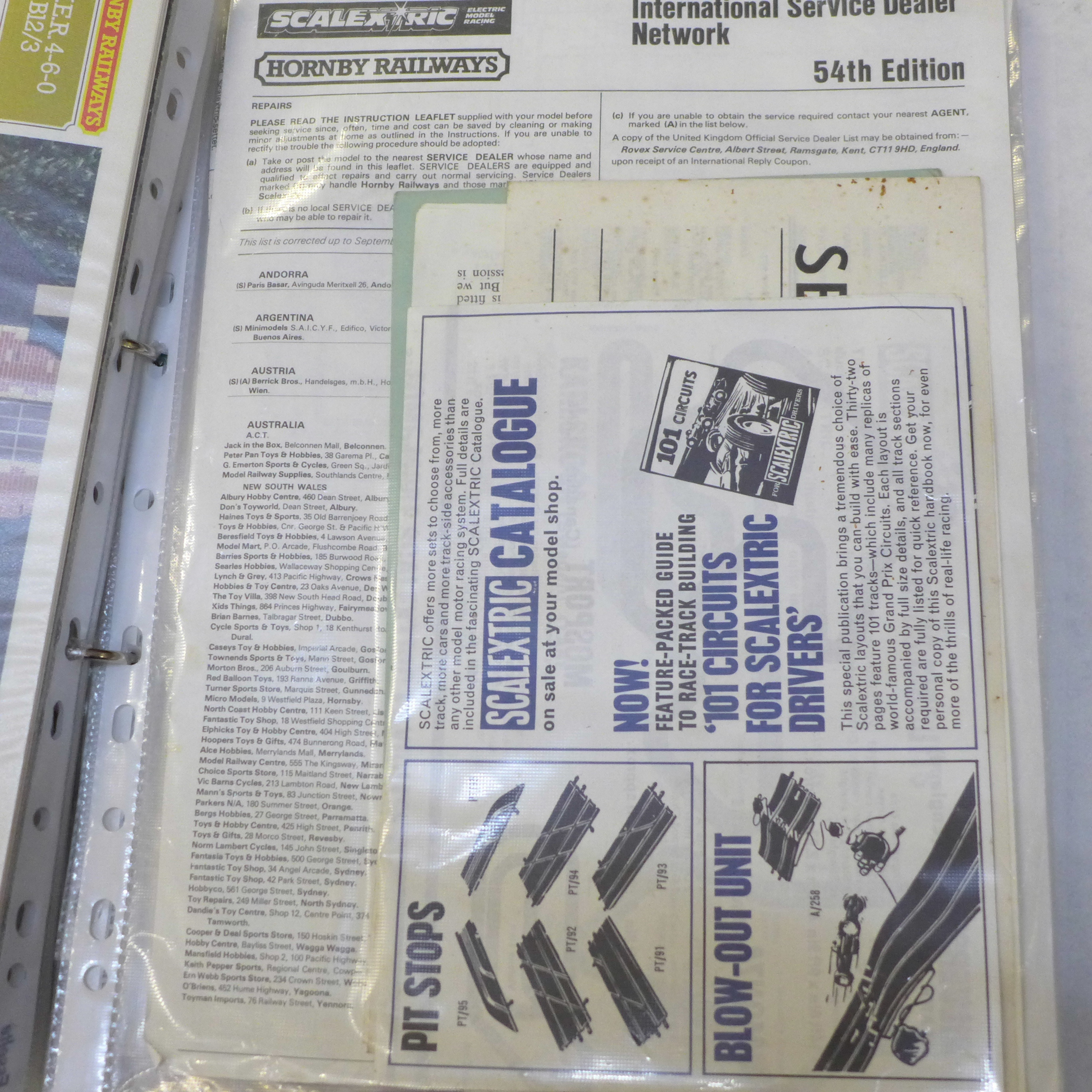 Two folders of toy catalogues, including an Israeli Toys catalogue (unpublished text) - Image 4 of 8