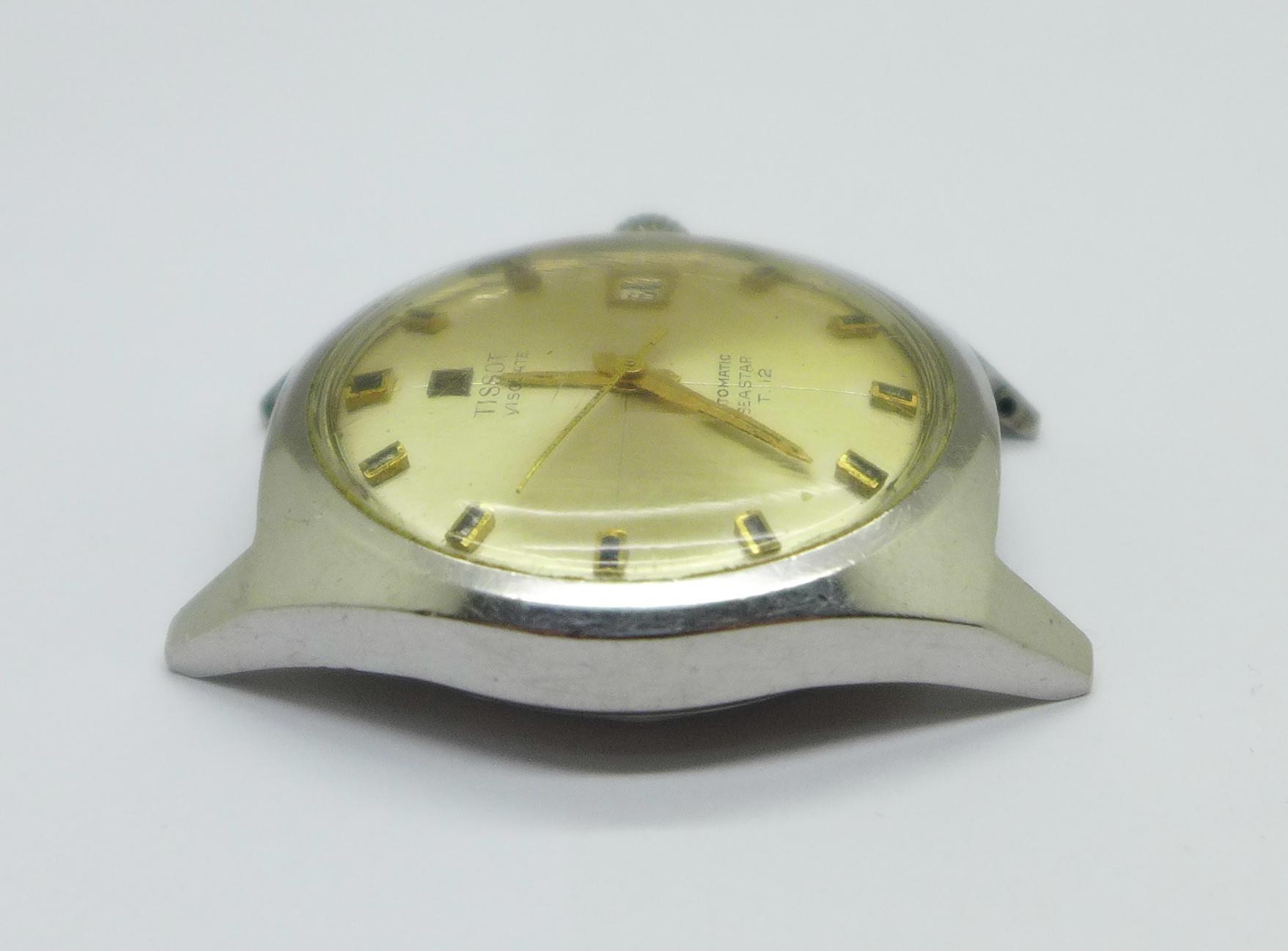 A Tissot Visodate Seastear T12 automatic wristwatch - Image 3 of 6