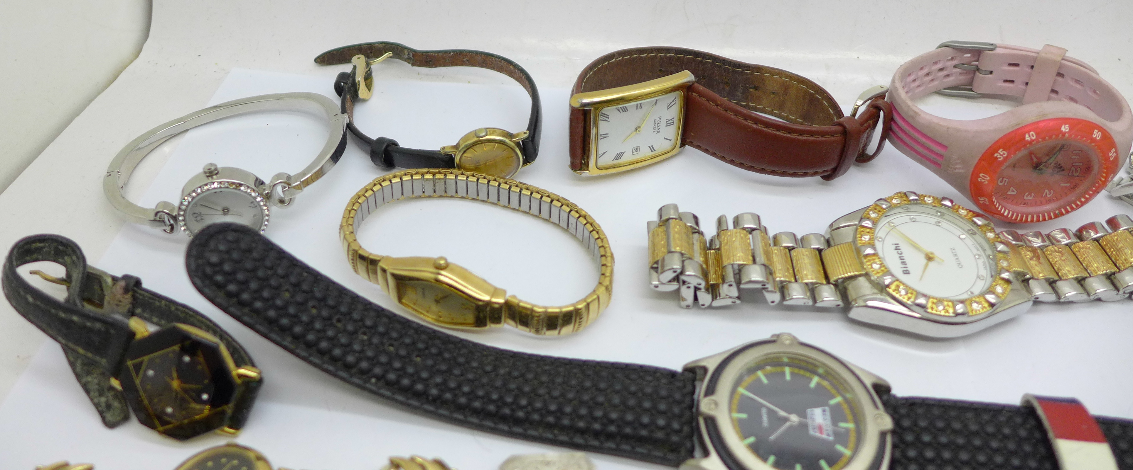 Wristwatches, pocket watches, etc., including Swatch and Seiko - Image 3 of 5