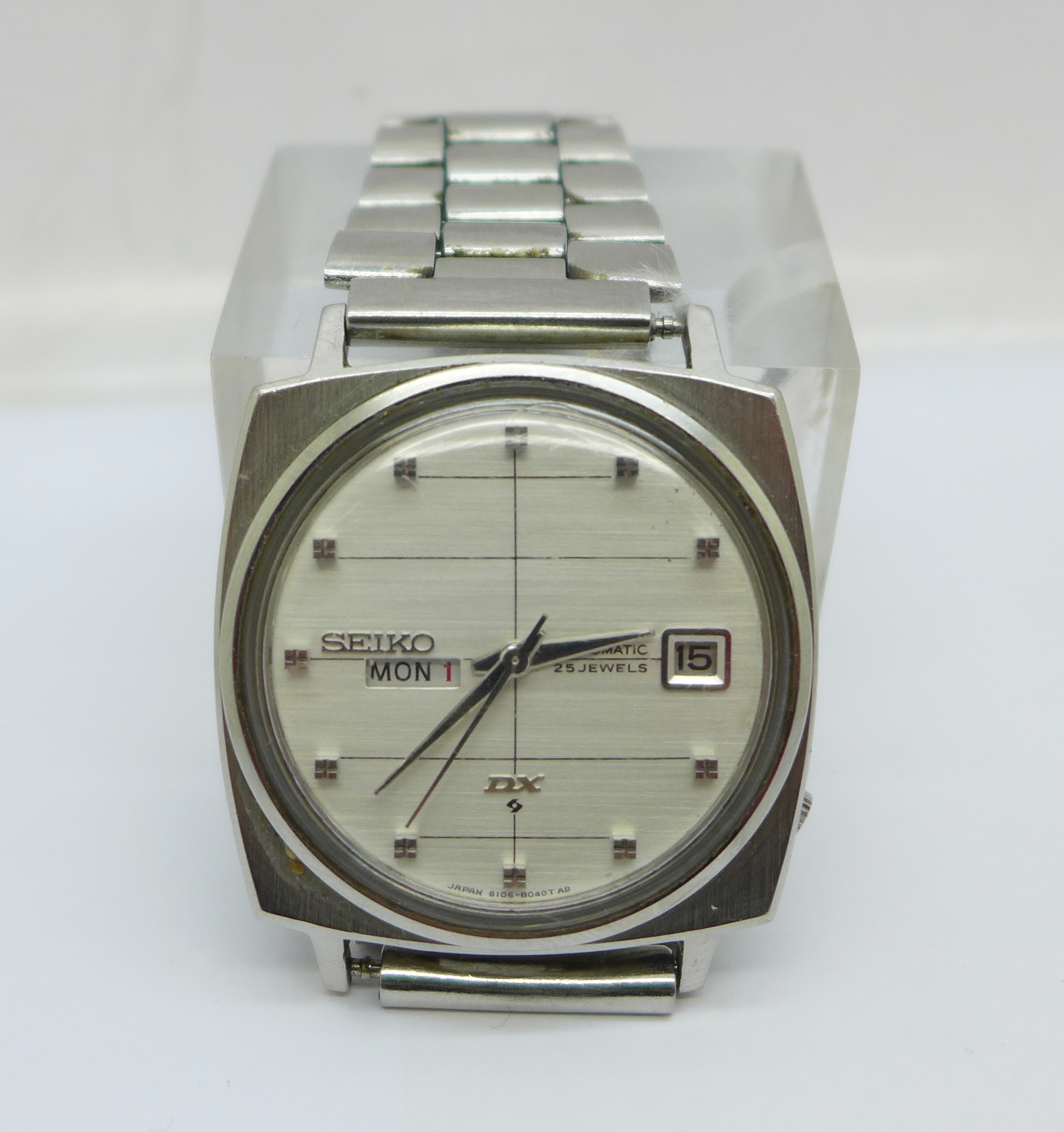 A Seiko DX Sea Lion automatic wristwatch, with day and date