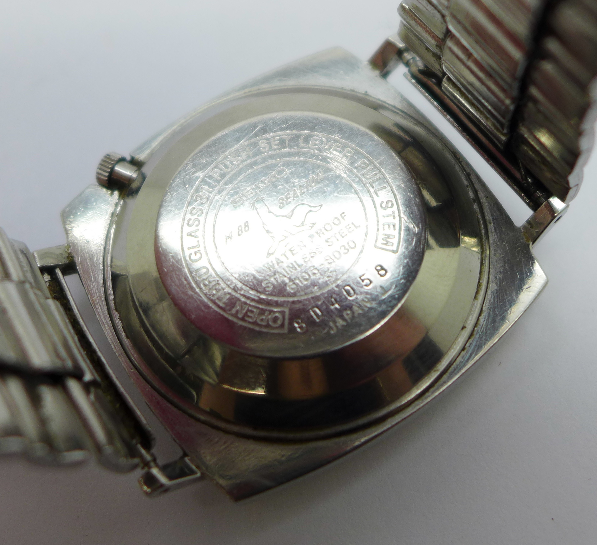 A Seiko DX Sea Lion automatic wristwatch, with day and date - Image 5 of 6