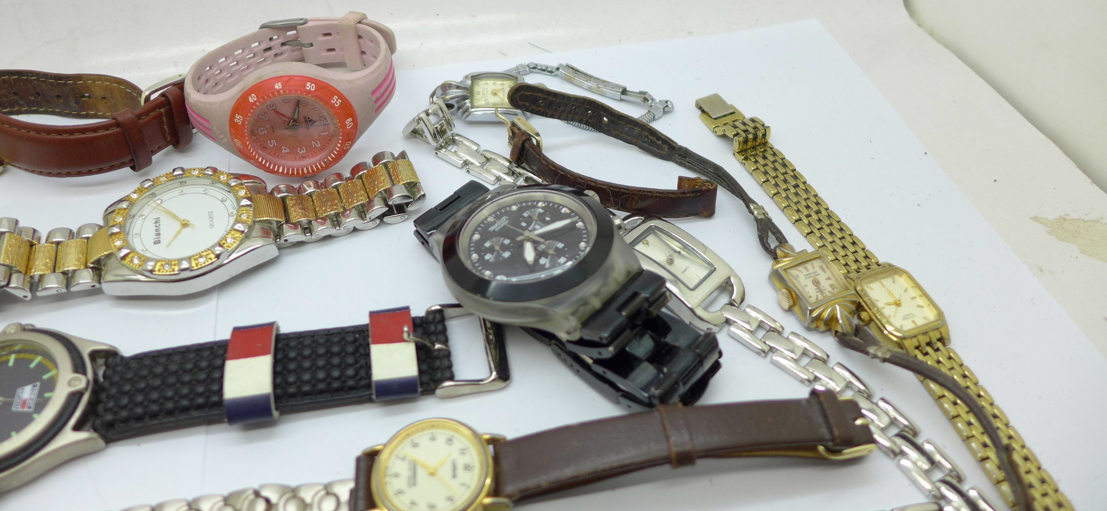 Wristwatches, pocket watches, etc., including Swatch and Seiko - Image 4 of 5