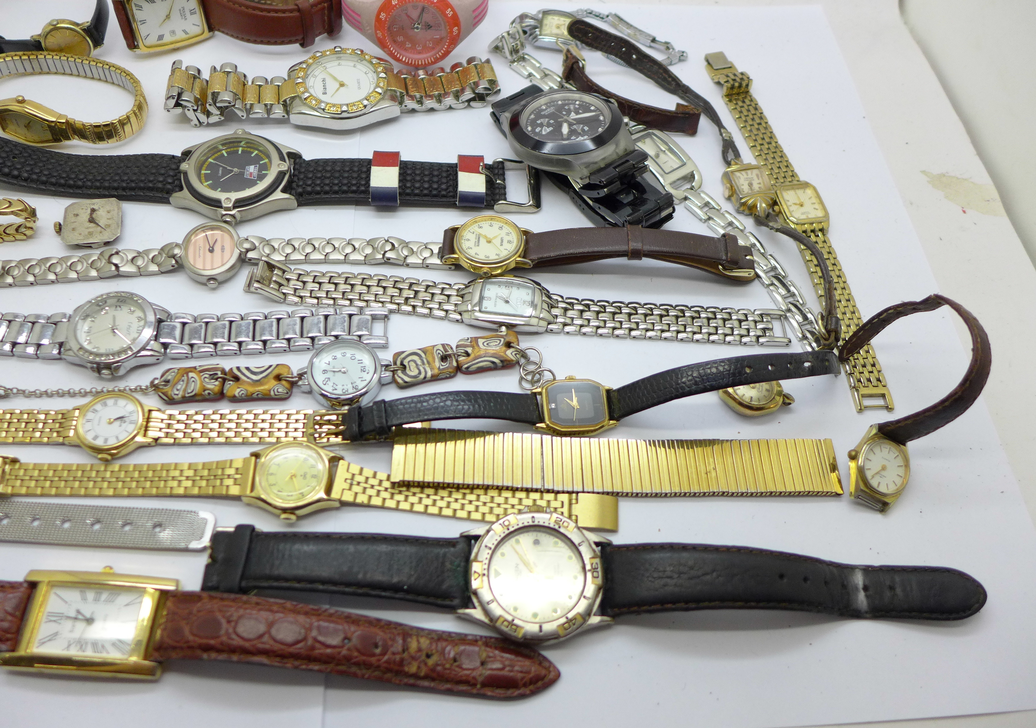 Wristwatches, pocket watches, etc., including Swatch and Seiko - Image 5 of 5