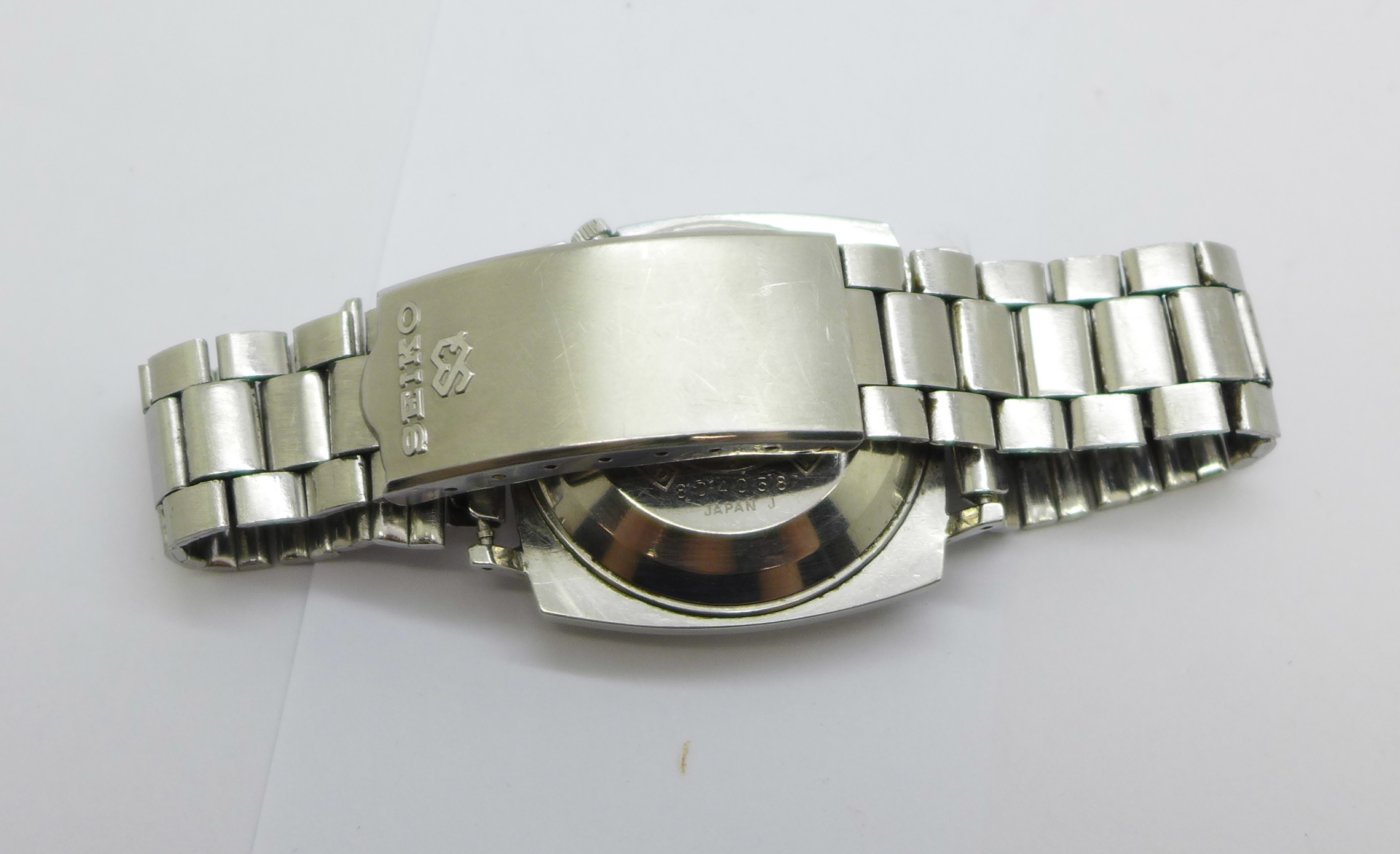 A Seiko DX Sea Lion automatic wristwatch, with day and date - Image 6 of 6
