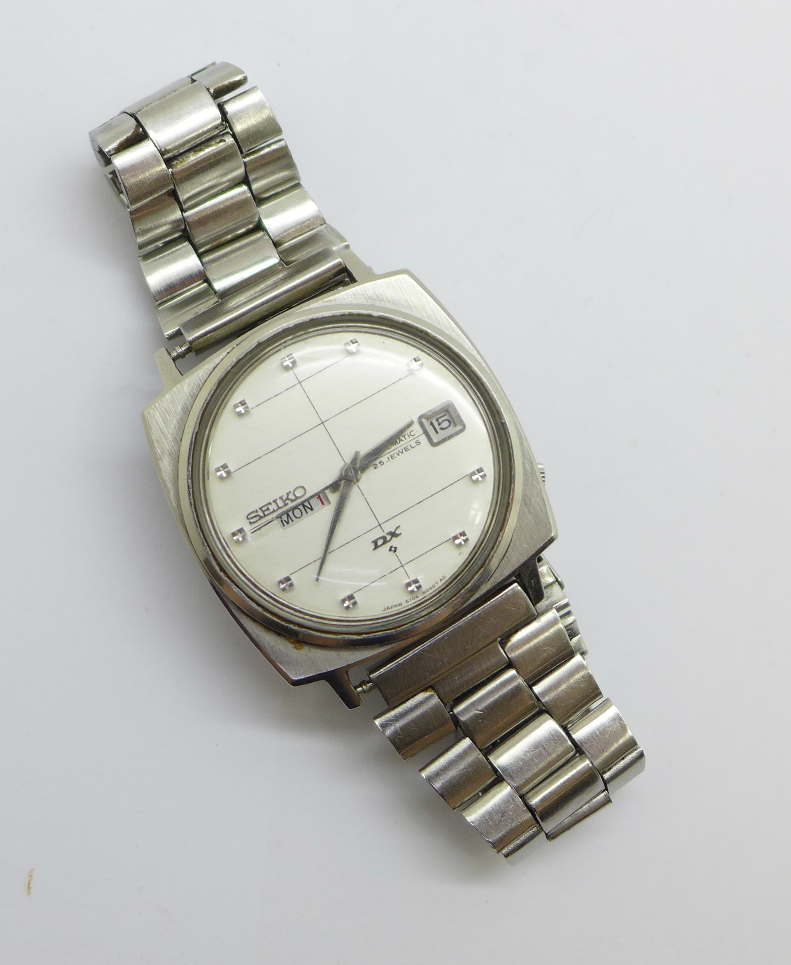 A Seiko DX Sea Lion automatic wristwatch, with day and date - Image 4 of 6