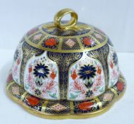 A Royal Crown Derby Old Imari cheese dome, second