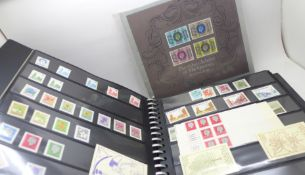 An album of British and Commonwealth mint stamps, pre-decimal to circa 1977