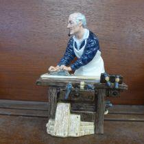 A Royal Doulton figure, The Carpenter