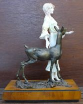 An Albany Fine China limited edition figure, Fontainebleau, with certificate