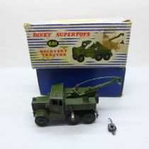 A Dinky Supertoys 661 Recovery Tractor, boxed