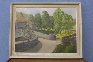 R. Simpson, Yorkshire Dales, oil on board, 44 x 59cms, framed