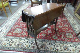 A Victorian mahogany Sutherland table