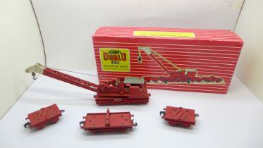 A Hornby Dublo 4620 breakdown crane, boxed