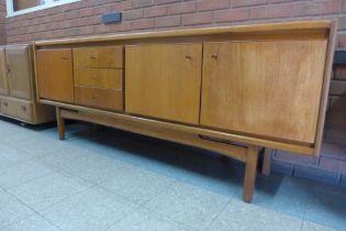 A teak sideboard