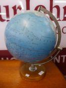 A Danish terrestrial globe
