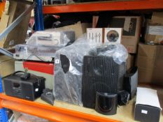 A quantity of pre-owned music items to include Sony amplifier and tuner, Bose Soundlink Mini II,