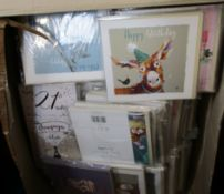 A large quantity of as new assorted Ling Design greetings cards.