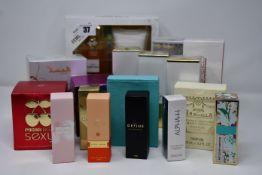 A quantity of assorted as new eau de parfum/toilette (17 items).