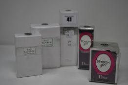 A Dior Poison Girl eau de toilette (30ml), a Dior Poison Girl roller-pearl eau de toilette (20ml), a
