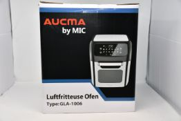 One boxed as new Aucma by MIC Air Fryer Oven (Model GLA-1006).