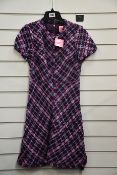 An as new Kate Spade New York plaid tweed dress (SIZE US 2).