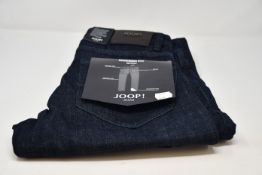 A pair of as new Joop! Mitch modern fit jeans (W30/L32 - RRP £90).