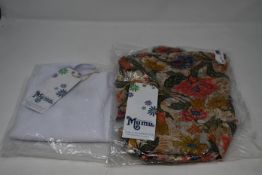 An as new Show Me Your Mumu Clothing; The Great Wrap Bloomtastic shorts (S - RRP $118) and Biley Bow