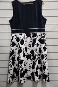 One as new Hobbs Una dress in midnight ivory (UK 20).