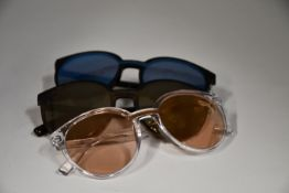 Three pairs of as new Pepe Jeans Rylee sunglasses (No cases).