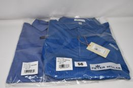 Two as new Peter Miller shirts (Both M - RRP $84 and $94).