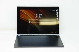 A pre-owned Lenovo Yoga Book YB1-X90L LTE 64GB in Black (FRP clear) (Checkmend report ID: