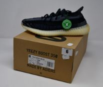 A pair of as new Adidas Yeezy Boost 350 V2 trainers (UK 7).