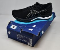 A pair of as new Asics Gel-Kayano 27 trainers (UK 9.5).