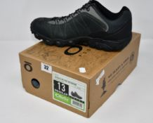 A pair of as new Oboz Bridger Low B-Dry waterproof hiking shoes (UK 12 - RRP £135).